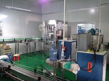 completer mineral water and pet blowing plant/bottled water factory/laser printing machine in bottled water production line