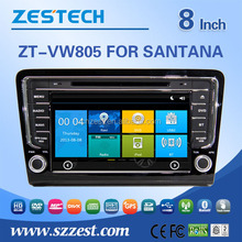 8inch car Accessories For VW SANTANA BORA 2013 with DVD audio function