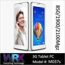 7 inch MTk8312 Dual Core 3G WCDMA Phone Call Tablet PC Dual SIM Card Dual Standby