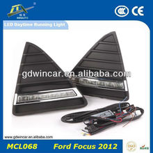 Export 12V Long Range Energy Saving Bright Running Light DRL Specific/ LED Daytime Running Lights For Ford Focusi 2012