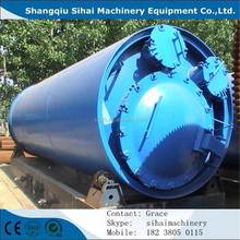 New arrival waste tire pyrolysis plant