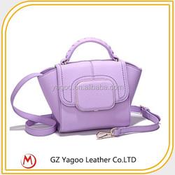 Hot Sales Fashion Lady PU high quality custom leather bag