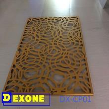 Metal decorative metal room dividers