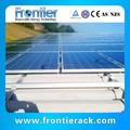 Solar techo de metal instalación