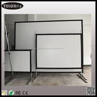 """TELON 72""""~400"""" Fast Folding Projector Screen/Easy Fold Projection Screen/Folding Projection Screens"""
