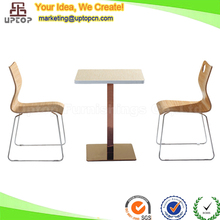 (SP-CT604) Wholesale fast food furniture mcdonald's kfc table and chair