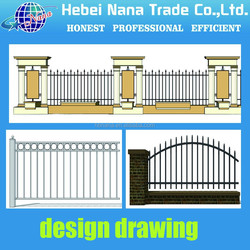 High Quality Forged Fence Garden Design