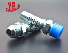 China supplier 16711 JIC male 74 degree cone hydraulic hose carbon steel pipe fitting names and part