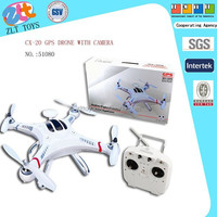 CX-20 Drone GPS shantou toys CX 20 Quadcopter with camera 720P DJI Phantom rc drone