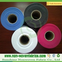 Tubular nonwoven fabric, non woven fabrics roll, Non-woven textile reel