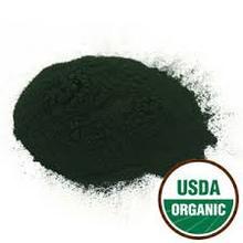 organic chlorella and spirulina powder