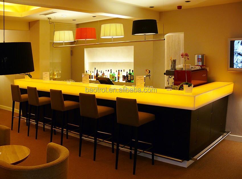 Cafe bar decoration modern furniture small bar counter juice bar