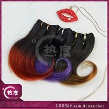 Best selling top grade cheap virgin short human hair curly weave