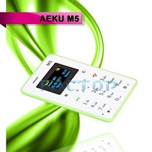 Low Price China Mobile Phone M5 1 inch Card Phone