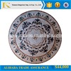 China manufacturer waterjet medallion stone marble from stock on sale
