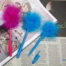 Best quality feather writing pen/Factory price feather ballpoint pen wholesale