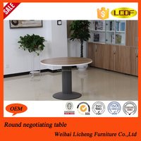 Small round office meeting table/two people round desk