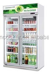 easy install upright refrigerator/chiller/cooler