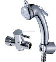 Plastic spray shower with hose handheld bidet shower toilet shattaf bidet sprayer