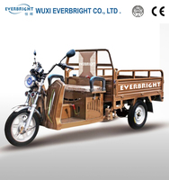 hybrid(battery and petrol) cargo tricycle,hybrid motorcycle made in china