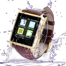 hot selling IPS Capacitive Touch Screen android 4.4 smart watch phone android dual sim