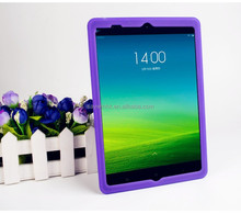 Silicone protective back cover for iPad Air(Purple)
