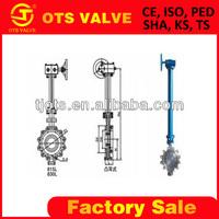 BV-SY-471 Long Stem valve with worm gear operator in deep 20 meters underground water
