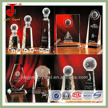 New Design 2015 Clear K9 Crystal Plate Blank High Quality For Business Crystal Award&Crystal