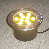 High quality waterproof ip65 9w outdoor led recessed light 220v factory on sale