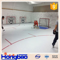 hockey stadium fence panels,inflatable hockey rink,uhmwpe shooting pad practice hockey slide board