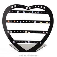 decorative fashionable acrylic earring display stand