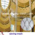 De acero inoxidable de malla decorativa, la decoración del techo de malla