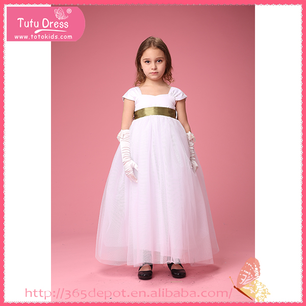 American Princess White Flower Girl Dresses Mother Of American Princess