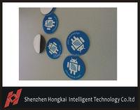 RFID 13.56mhz Ultralight MF1 S50 smart disc tag blank NFC sticker