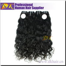 Fast delivery Qingdao Fashion Real Human Virgin dingli hair