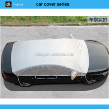 Folding half car cover with easy methods for all car