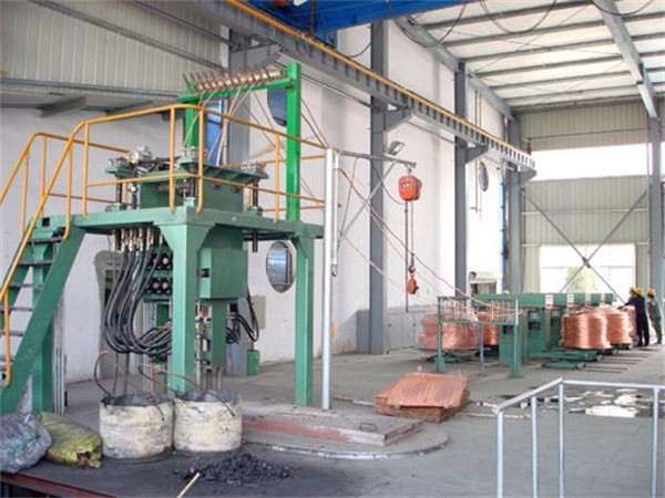 Oxygen-free copper bar up-casting production line1A.jpg