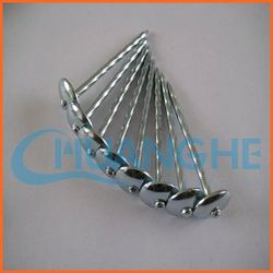made in china 9g 2 1/2' eg umbrella head roofing nail