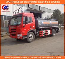 Faw chemical tank truck,10cbm Ammonium hydroxide tanker truck,10000liter chemicals tank truck