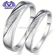 Fashion Man Ring Hot Sale White Gold Ring Wedding Ring