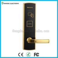 Hotel electric panel RFID key card door lock