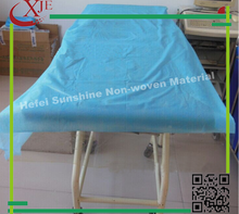 High quality wholesale disposable flat nonwoven coverlet bed sheet with cheap price