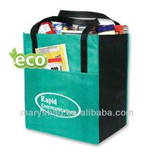 enviro-shopper with covered cardboard bottom insert add stability