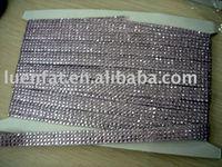hotfix tape,rhinestone trimming,crystal hotfix strip
