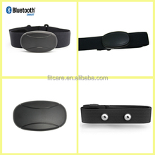 Bluetooth Fitness Monitor Heart Rate Chest Belt with Color Box Package