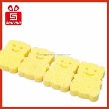 SGS light medium heavy duty kicthen table dinnerware cutlery dish washing household scouring pad sponge