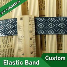 Nylon printed underwear elastic waistband
