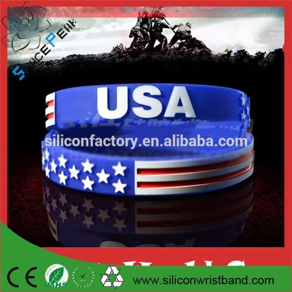 Usa - coupe du monde bracelet / jeux olympiques ( divers quantités ) US amérique du Silicone bracelet