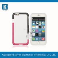 [kayoh] pc+tpu frame armor case for iPhone 6 cellphone armor case