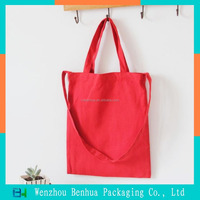 Custom shopping canvas luxury cloth bag